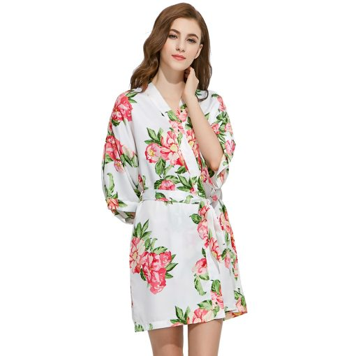 Alice - Bridal Robe White