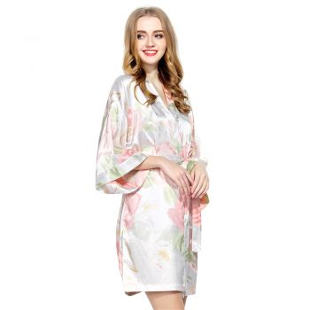 Eve - Bridesmaid Robes UK White