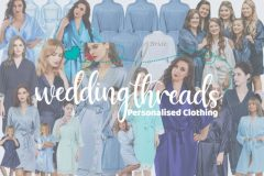Blue Bridesmaid Robes - Wedding Threads