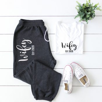 wifey est tracksuit - wedding threads